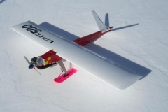 Viper on skiis