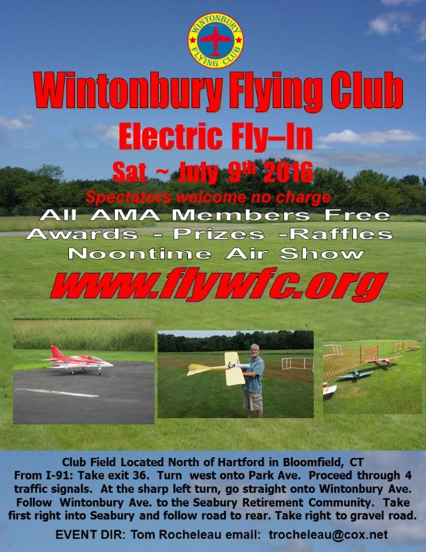2016 Electric Fly-In Flyer