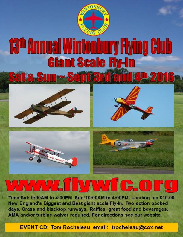 2016 Giant Scale Flyer